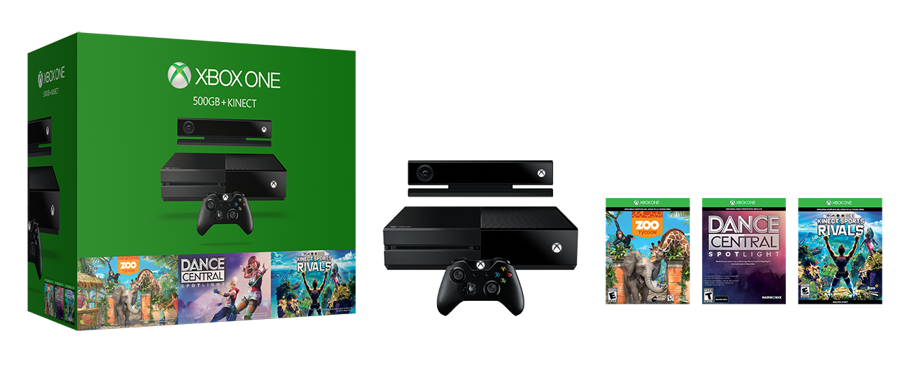 Consola Xbox One 500gb 1 Control Kinect 3 Juegos Ktronix
