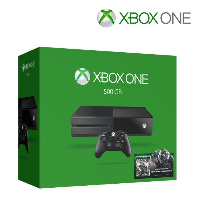 xbox one 500gb 1 control gears of war 4 ktronix tienda. Black Bedroom Furniture Sets. Home Design Ideas