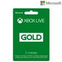 Xbox Live Gold 3 meses