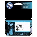 Cartucho HP 670 Negro Ink