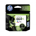 Cartucho de tinta HP 664XL Tricolor Original F6V30AL