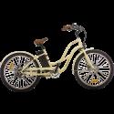 Bicicleta Electrica e-city Classic Vita Cruiser Beige