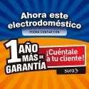 Garantía Extendida 1 año - Nevecón SAMSUNG 535 lt RS51K54F02 Negro