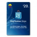 Pin Virtual PLAYSTATION ($20 USD)