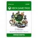 Pin Virtual XBOX Game Pass 3 Meses