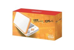 Consola 2DS XL White and Orange