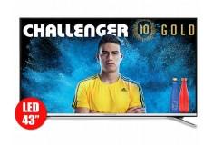 """TV 43"""" 108cm CHALLENGER 43T23T2 4K UHD Internet"""