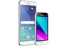 Celular libre SAMSUNG J7 LTE DS 4G Blanco + Celular Libre SAMSUNG J1 Mini Prime DS 3G Blanco