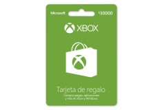 Pin Virtual POSA XBOX LIVE $30.000
