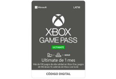 Pin Virtual POSA Game Pass Ultimate 1 Mes