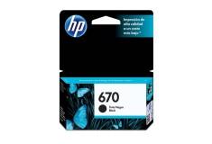 Cartucho de tinta HP 670 negra Original CZ113AL
