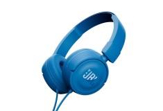 Audífonos JBL Alámbrico OnEar T450 Azul