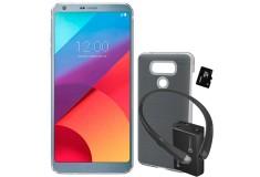 Celular Libre LG G6 SS 4G Plata + 4 Accesorios de obsequio