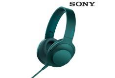 Audífonos SONY de diadema MDR-100AAP azul con audio de alta resolución