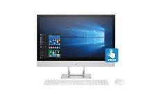 """PC All in One HP - 24-R016 - AMD A10 - 23.8"""" Pulgadas – Disco Duro 1Tb – Blanco"""