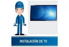 """Instalación TV 32"""" a 58"""" + Base de Brazo"""