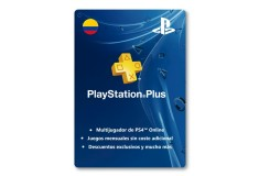 Pin Virtual PLAYSTATION Plus 12 meses