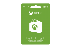 Pin Virtual POSA XBOX LIVE $55.000