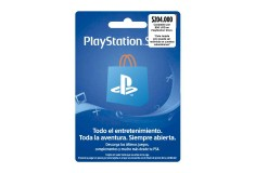 Pin Virtual POSA PLAYSTATION ($50USD)