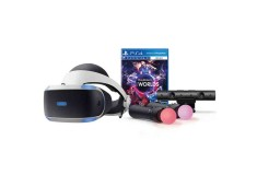 PS4 VR + 2 Controles Move + Videojuego VR Worlds + Camara V2.0