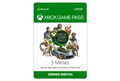 Pin Virtual XBOX Game Pass 3 Meses