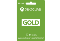 Pin Virtual POSA XBOX LIVE 12 MESES