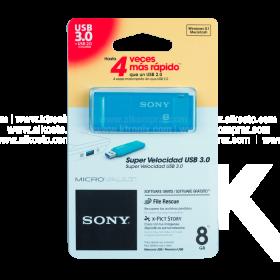 Memoria USB SONY 8 GB 3.0 Color Azul