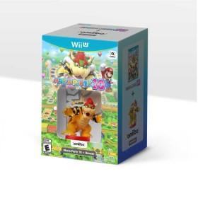 Kombo videojuego WiiU Mario Party 10 + Bowser AMIIBO