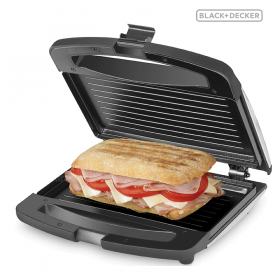 Sanduchera B&D Panini 1010B