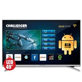 """TV 49"""" 123cm CHALLENGER 49T23T2 4K UHD Internet"""