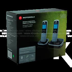 Teléfono MOTOROLA Inalámbrico Bluetooth Doble