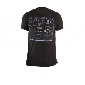 Camiseta  NINTENDO ControlNegro Talla M
