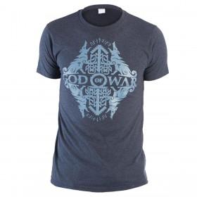 Camiseta GOD OF WAR Azul Talla M