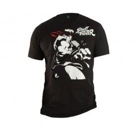 Camiseta STREET FIGHTER Negro Talla S