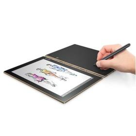 """Convertible 2 en 1 LENOVO - Yogabook And LTE - Intel Atom - 10.1"""" Pulgadas - Disco Duro 64Gb - Dorado"""