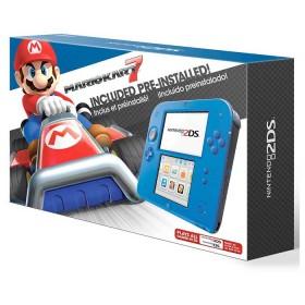 Consola NINTENDO  2DS Crimson Blue 2 + Mario Kart 7