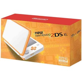 Consola 2DS XL White and Orange-a