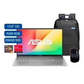 "Portátil ASUS VivoBook X512DK-BR292T AMD Ryzen 5 15.6"" Pulgadas RAM 8GB Disco Sólido 256GB Plateado"