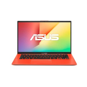 "Portátil ASUS VivoBook X412FA-BV1042T Intel Pentium Gold 14"" Pulgadas RAM 4GB Disco Sólido 128 GB Rojo"