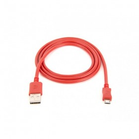 Cable Griff USB/MicroUSB 1M Rojo