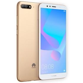 Celular Libre HUAWEI Y6 (2018) Dorado DS 4G
