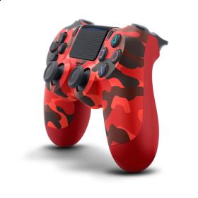 Control PS4 DS4 Rojo Camo