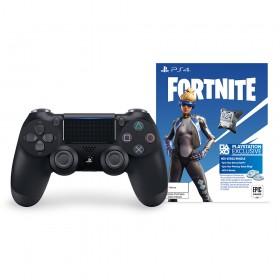 Control PS4 DS4 Negro+ Contenido Fortnite