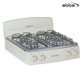 Estufa de Mesa ABBA 4P SG4005N A Gas Natural Color Almendra