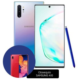 Celular SAMSUNG Galaxy Note 10 Plus  DS 256 GB Plateado