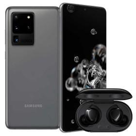 Combo Celular SAMSUNG Galaxy  S20 Ultra Gris 128GB + Buds Plus Negro