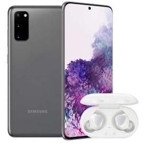 Combo Celular SAMSUNG Galaxy  S20 128GB Gris + Buds Blanco