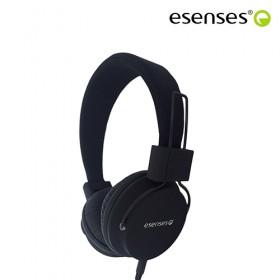 Audífono ESENSES Alámbrico HP-601 OnEar 3.5 Negro