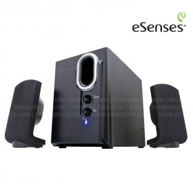 Parlantes ESENSES  2.1 USB 12W  MS-2112
