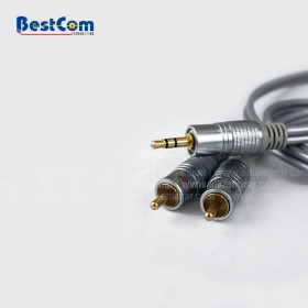 Cable de Audio STEREO 2 A 1 0.93M